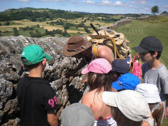 Visite de la forteresse de Polignac