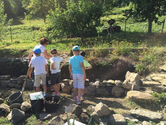 Atelier construction en pierre sèche, Le Puy-en-Velay