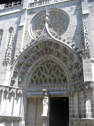 Portail, église Notre-Dame du Marthuret