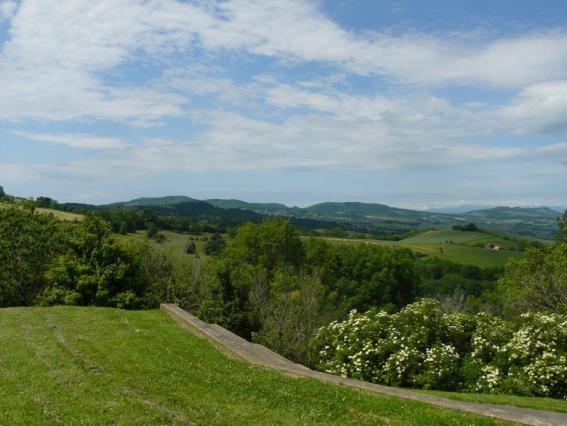 Vue depuis Egliseneuve-Près-Billom