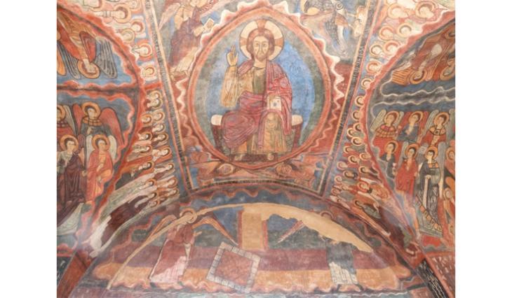 Voûte de la chapelle Saint-Michel