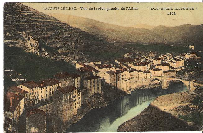 Les terrasses ponctuaient les paysages comme à Lavoûte-Chilhac