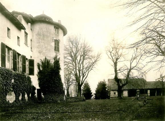 Le château de Chavaniac en 1916