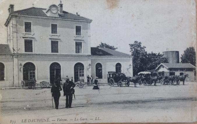 La gare ferroviaire de Voiron