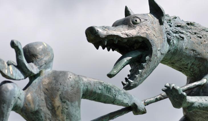 Statue de Philippe Kaeppelin à Auvers