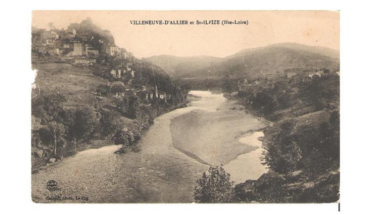 L'Allier entre Saint-Ilpize et Villeneuve