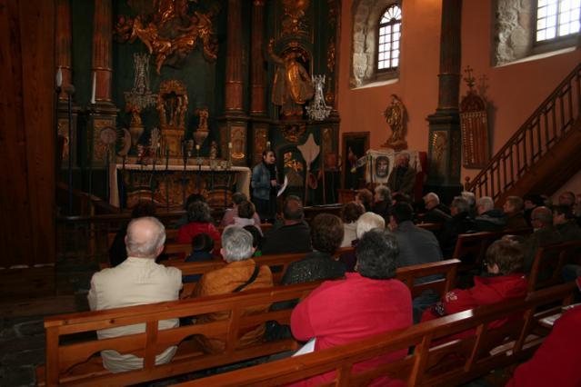 Visite guidée de la chapelle