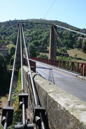 Détail du pont