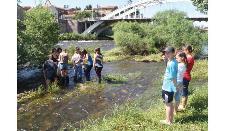 Projet fédérateur les ponts sur l'Allier
