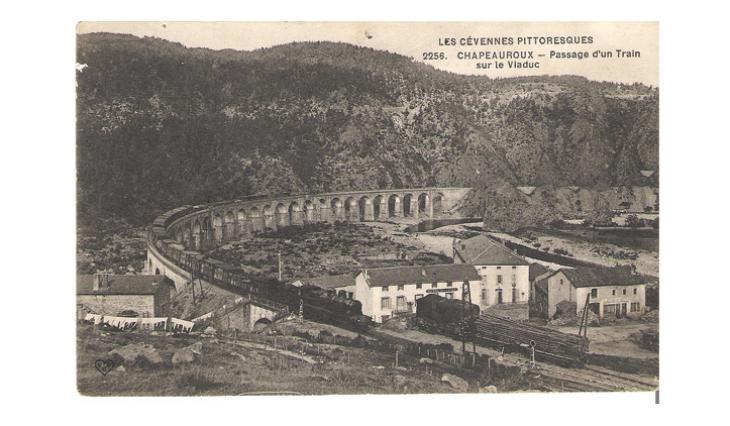 La majestueuse courbe du viaduc de Chapeauroux