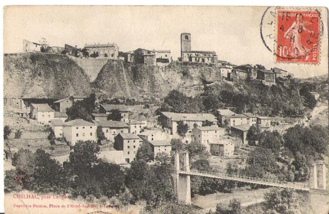 Le village de Chilhac