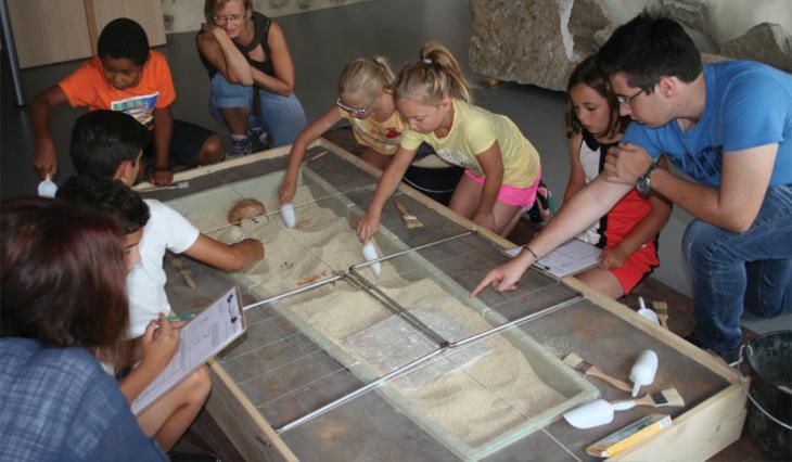 Atelier archéologie CIAP
