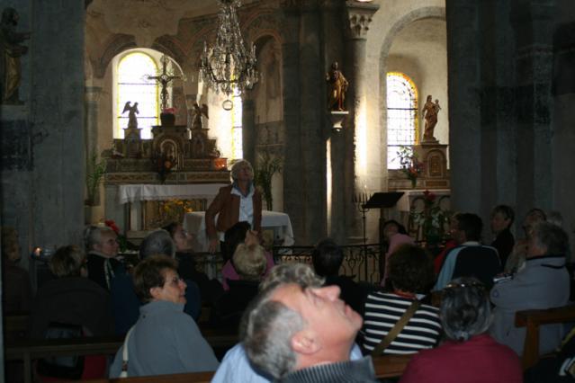Visite guidée de l'église de Lavaudieu