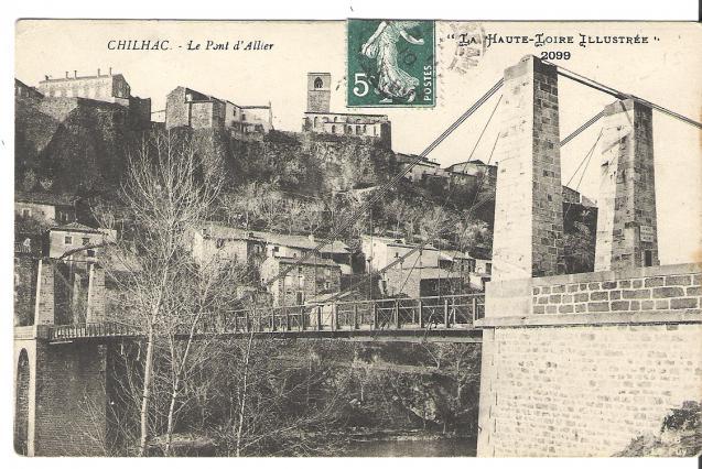 Le pont de Chilhac