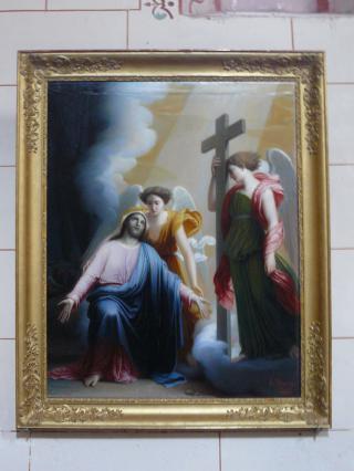 Agonie du Christ aux jardins des Oliviers