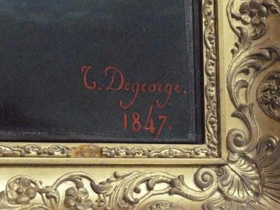 Signature de Degeorge