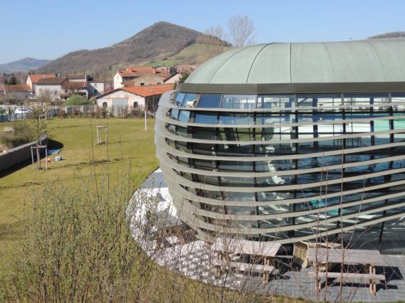Intérieur du centre aquatique