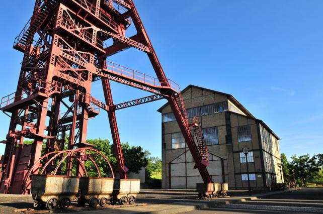Carreau de la mine à Bayard (Brassac-les-Mines)