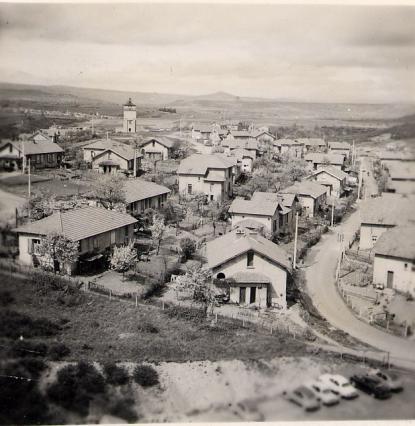 Quartier nord de l'ancienne cité minière de La Combelle