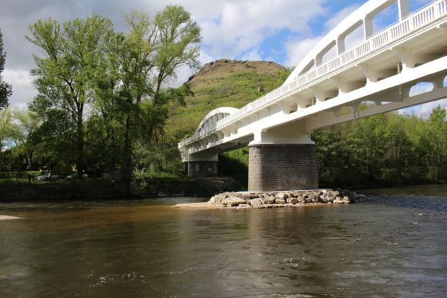 Pont Pakowski à Nonette, inauguré en 1926
