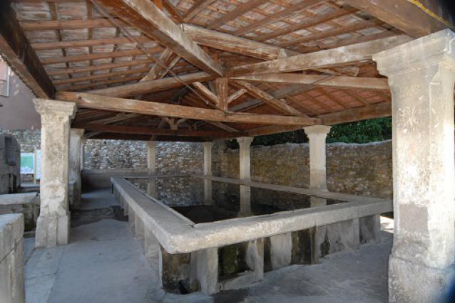Lavoir de saint-Marcel d'Ardèche