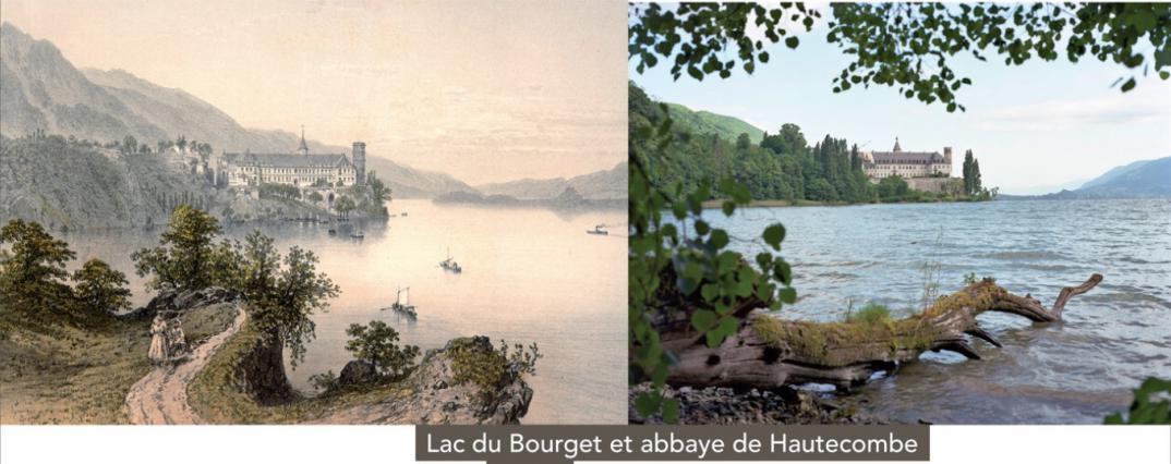 Lac du Bourget et Abbaye d'Hautecombe