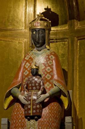Vierge noire, chapelle du Saint-Sacrement de la cathédrale du Puy-en-Velay