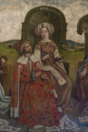 La Logique, fresque des Arts libéraux, cathédrale du Puy-en-Velay