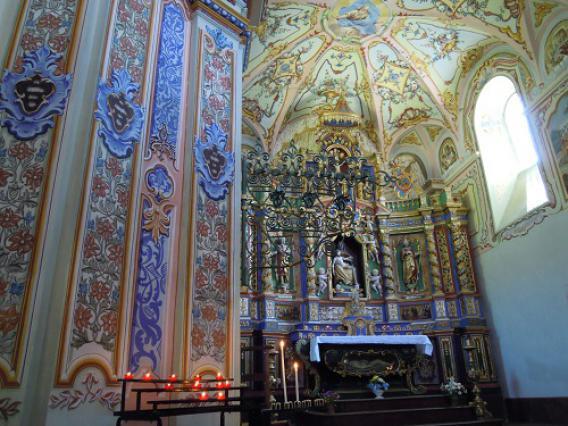 Notre-Dame-des-Vernettes, intérieur et retable majeur