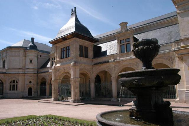 Pavillon Anne de Beaujeu, vue d'ensemble