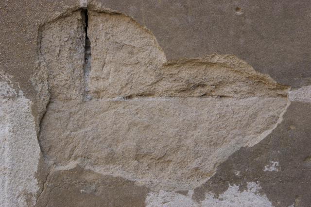 Altérations de la pierre de molasse