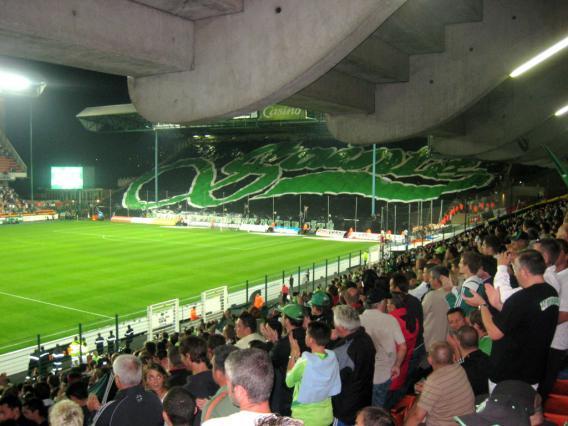 Un soir de derby Saint-Étienne – Lyon