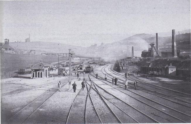 La gare du Pont de l'Âne en 1865