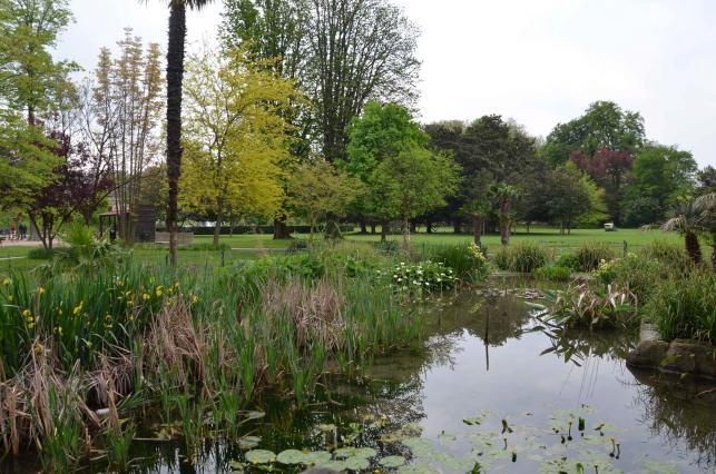 Le parc Jouvet.