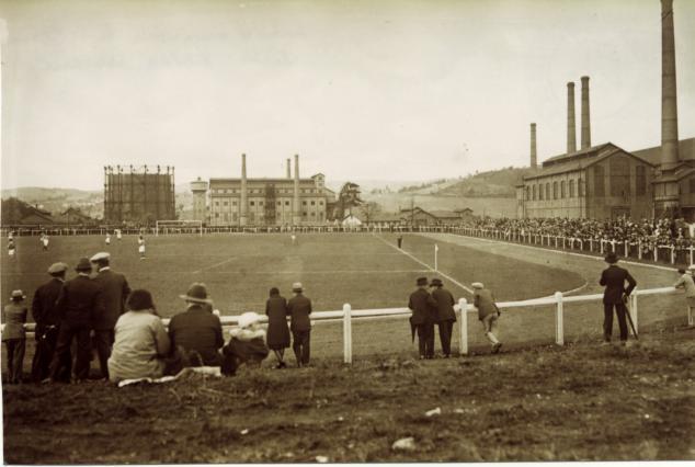 Le stade dans les années 1930