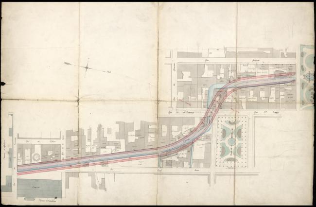 Plan de rectification et d'élargissement du Furan