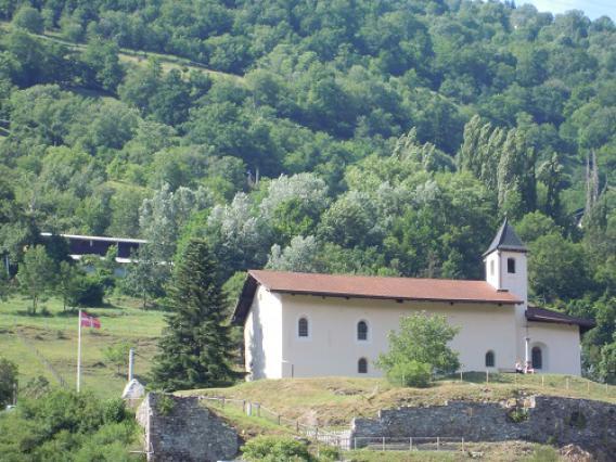 Aime, colline et chapelle Saint-Sigismond