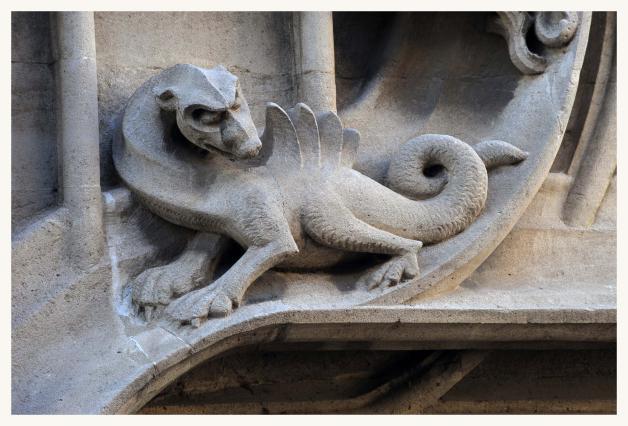 Un dragon.
