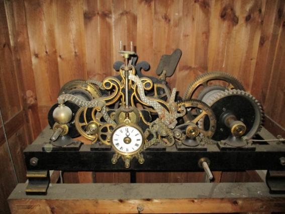 Mécanisme de l'horloge