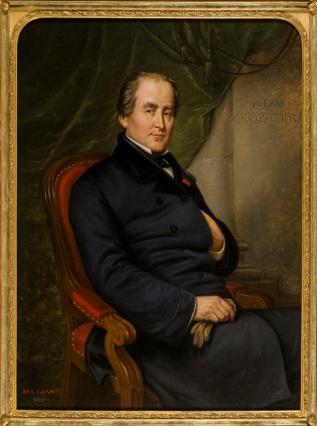 Charles Crozatier, Hippolyte Giraud, 1858