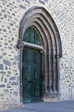 Porte en bronze