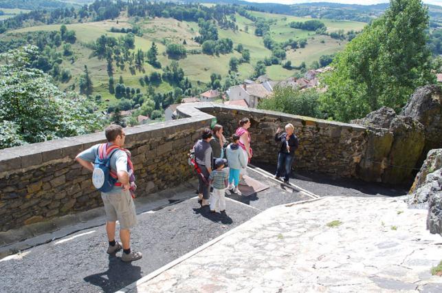 Visite guidée des remparts de Saint-Flour