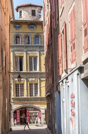 Hôtel des Ganirol, rue Pannessac, Le Puy-en-Velay