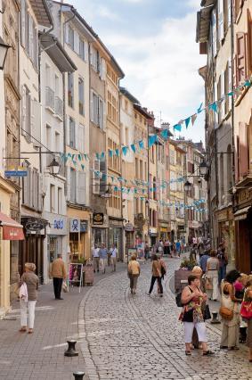 La rue Pannessac et ses hôtels particuliers Renaissance