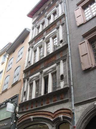 Hôtel Renaissance, rue Pannessac, Le Puy-en-Velay