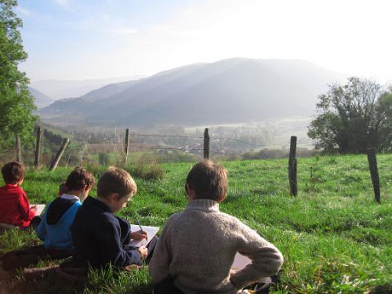 Atelier lecture de paysage