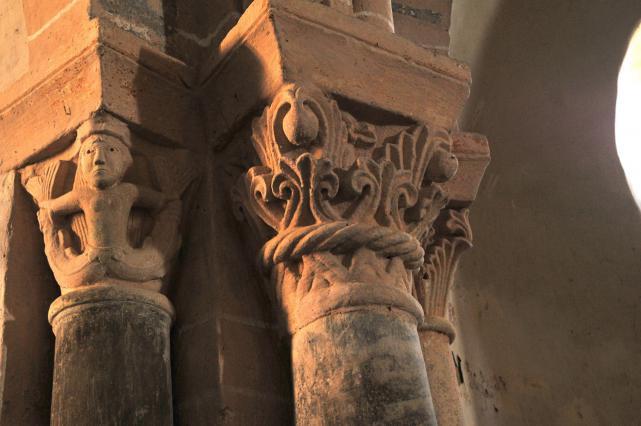 Église de Mailhat - Chapiteaux du choeur