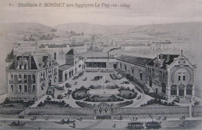 Distillerie Bonnet à Chadrac