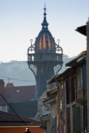 Tourelle de l'immeuble Pagès, Le Puy-en-Velay
