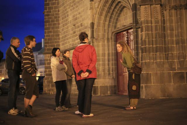 Visite théâtralisée en nocturne